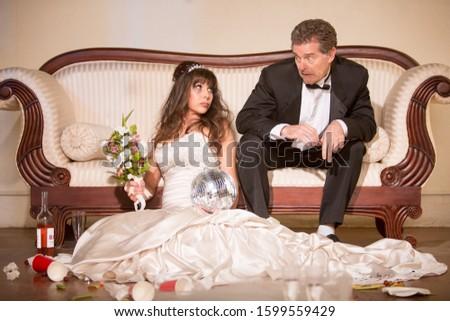 Hapless husband and unhappy bride #1599559429