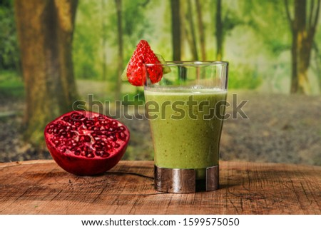 pictures of healthy food and smoothies