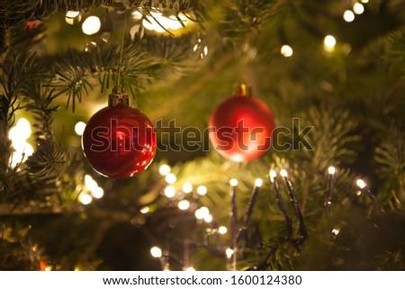 Christmas decorations. Christmas tree balls #1600124380