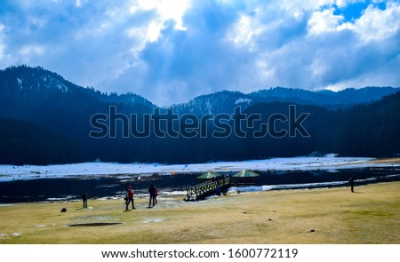 Khajjiar Lake - Mini switzerland in India. Encircled by lush green forests, Khajjiar Lake is a natural splendour, located at an elevation of 1920 mtrs. Among the best places to visit in Himachal #1600772119