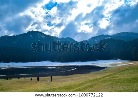 Khajjiar Lake - Mini switzerland in India. Encircled by lush green forests, Khajjiar Lake is a natural splendour, located at an elevation of 1920 mtrs. Among the best places to visit in Himachal #1600772122