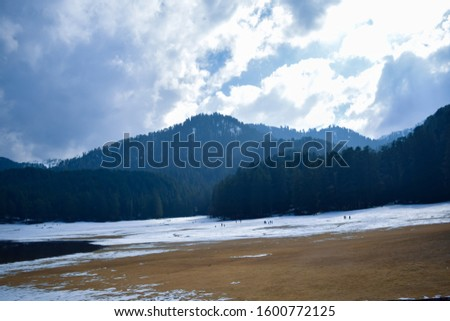 Khajjiar Lake - Mini switzerland in India. Encircled by lush green forests, Khajjiar Lake is a natural splendour, located at an elevation of 1920 mtrs. Among the best places to visit in Himachal #1600772125