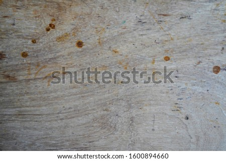 Stained old wooden work bench #1600894660