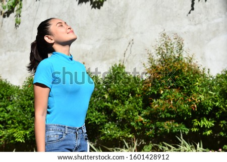 A Contemplative Pretty Minority Female #1601428912