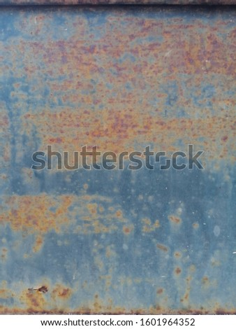 Rustic on the old wall background. Rust wall. Rust effected to wall. Rust. Rust background #1601964352