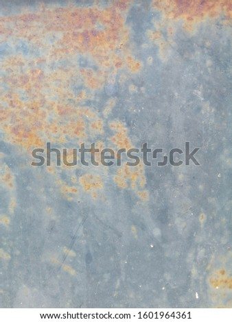Rustic on the old wall background. Rust wall. Rust effected to wall. Rust. Rust background #1601964361