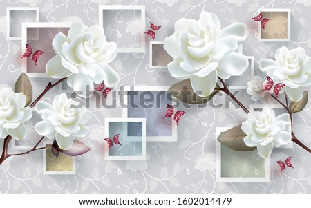 3d wallpaper design and beautiful wall brick background #1602014479