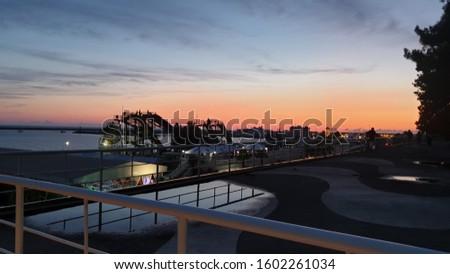 Evening. Late evening in Sochi #1602261034