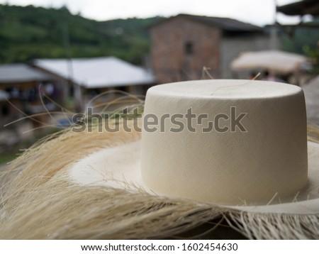Montecristi, Manabí - Ecuador, toquilla straw hats (Panama hats). #1602454630
