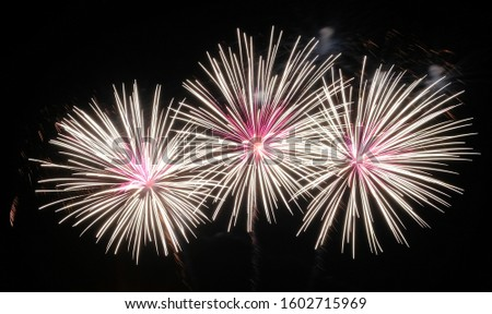 Fireworks according to different festivals
