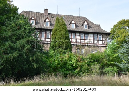 Arensburg Castle in the Schaumburg district #1602817483