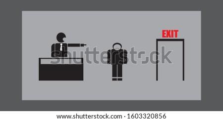 Get sack, digital illustration, cartoon #1603320856