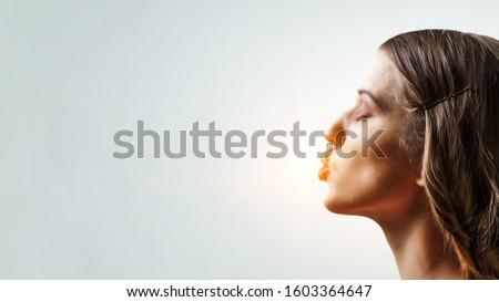 Give me a kiss . Mixed media #1603364647