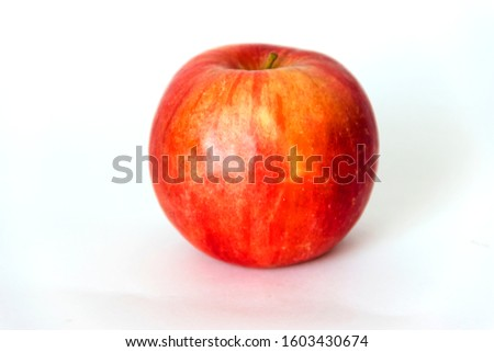 pictured in the photo Red Apple Rotating
