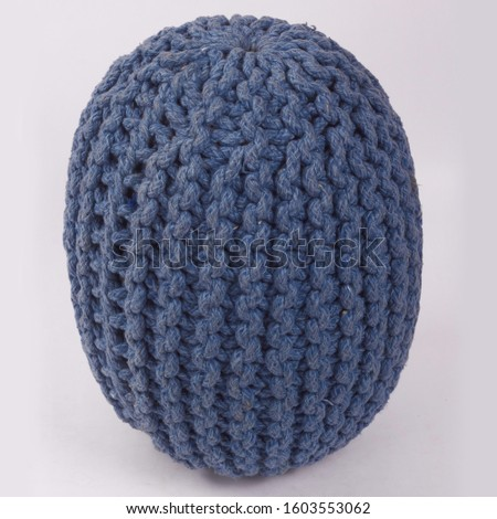 Comfortable soft pouf for home #1603553062