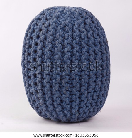 Comfortable soft pouf for home #1603553068