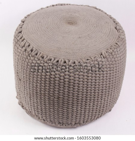 Comfortable soft pouf for home #1603553080