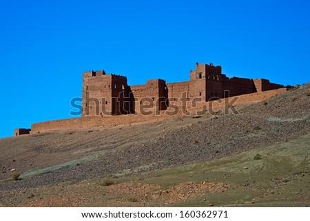 Berber castle in Morroco #160362971