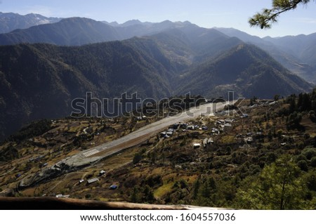 Wildest Airport of Nepal. Talcha Airport, Nepal #1604557036