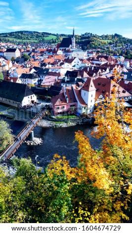 UNESCO site - Cesky Krumlov in Czech Republic #1604674729
