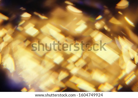 light refracted through a prism abstract blurred background #1604749924