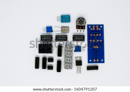 Electronic devices and circuit boards #1604791207