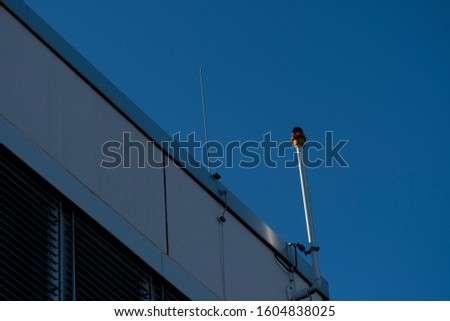 Alarm system on the roof  #1604838025
