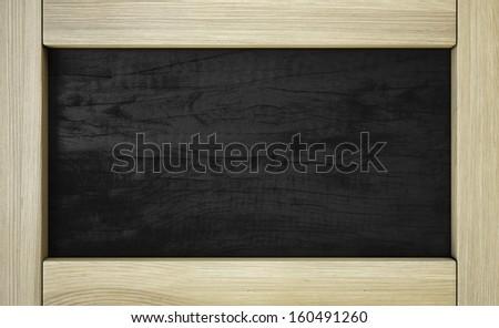 Vintage wooden frame #160491260