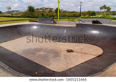 Capricorn Coast Australia - A skate park for recreational skateboarding built as an activity for young people to enjoy #1605211666