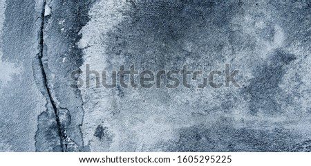 Concrete surface, old wall can be used as a background Rough surfaces with scratches and cracks #1605295225