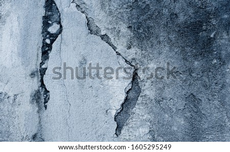 Concrete surface, old wall can be used as a background Rough surfaces with scratches and cracks #1605295249