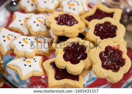 Biscuit Biscuits (Gluten Free) Strawberry Jam #1605431317