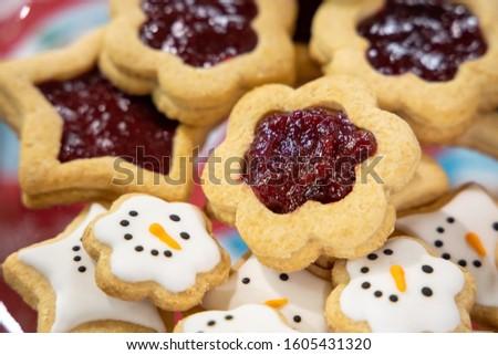 Biscuit Biscuits (Gluten Free) Strawberry Jam #1605431320