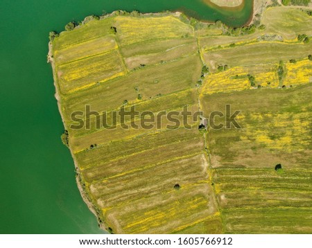 Aerial View Of The Farms  #1605766912