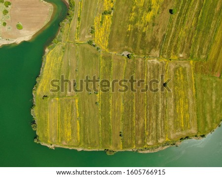 Aerial View Of The Farms  #1605766915