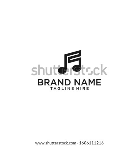 music logo design inspiration . music icon design template . musical notes icon . modern music logo . circle musical logo template #1606111216