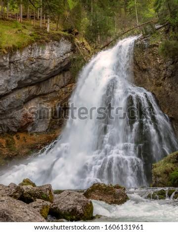 Europe Austria Gollinger waterfall. Salzburger land Aubauer town hofer town torren town obergau town #1606131961