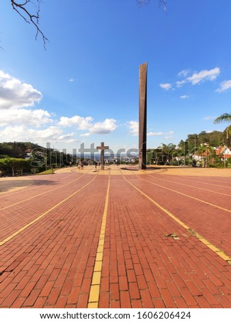Pope's Square in Belo Horizonte Brazil #1606206424