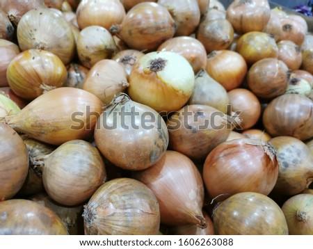 Lots of garlic on sale in market.  #1606263088