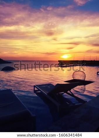 ocean sea sunset travel vacation vacation vacation phuket thailand #1606341484