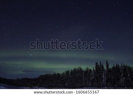 Aurora Borealis in Fairbanks, Alaska  #1606655167