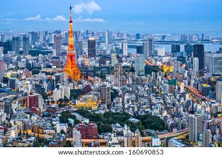 Tokyo Tower in Tokyo, Japan