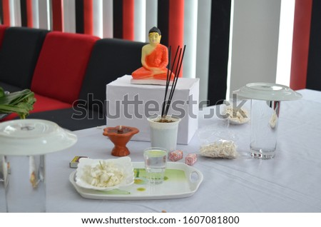 Pirith Chanting Ceremony - Table Arrangement #1607081800