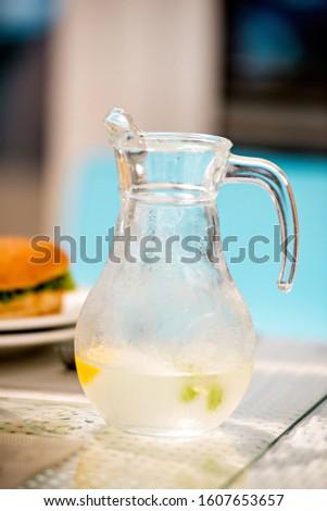 Refreshing lemonade in hot weather. #1607653657