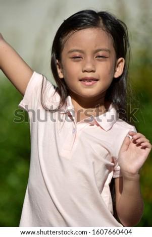 A Stretching Beautiful Diverse Female #1607660404