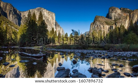 Yosemite National Park. Nice background for your desktop or others