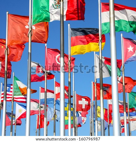 World flags background #160796987