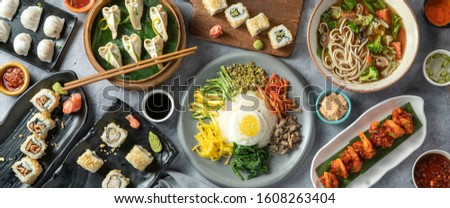 Tasty Chinese Food Background HD   #1608263404