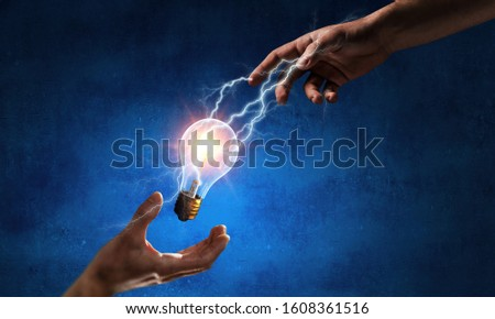 Concept of new ideas and innovation #1608361516