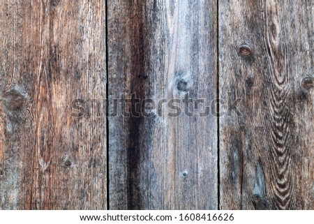 Old Weathered Grayish Wooden Planks #1608416626